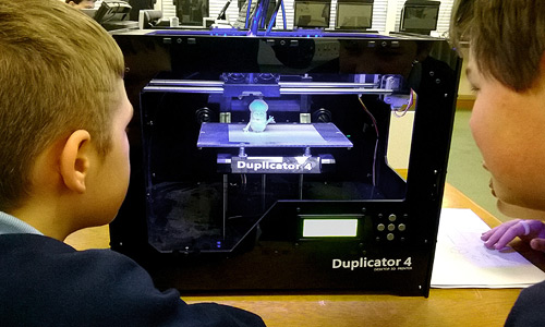 Printing 3D computer file with a 3D Printer